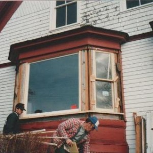 Bay window repair