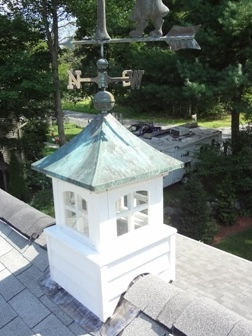 Cupola installed