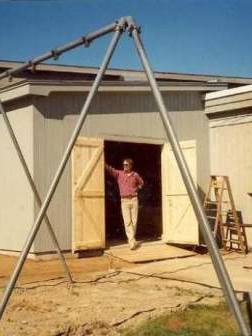 shed, outdoor storage building
