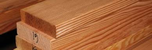 Douglas fir decking