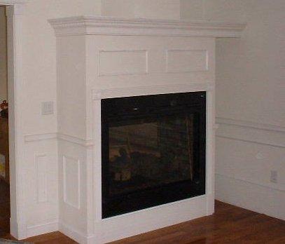 Fireplace Mantel Enclosures Handyman Repair Pro