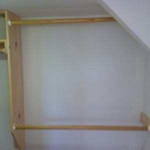 drywall repair closet
