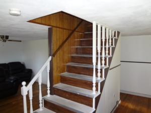 Staircase before renovation