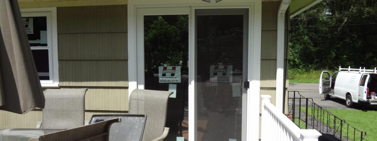 Harvey Patio Door Installed