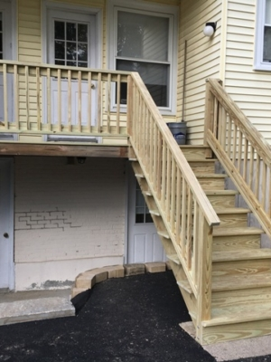 Deck Stairs Rails